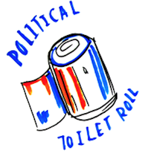 political toilet roll!